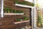 mur végétal gouttières salle de réunions