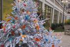 livraison décoration sapin de Noël pour bureau