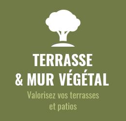 terrasse & mur végétal